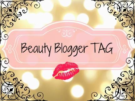 beauty blogger tag