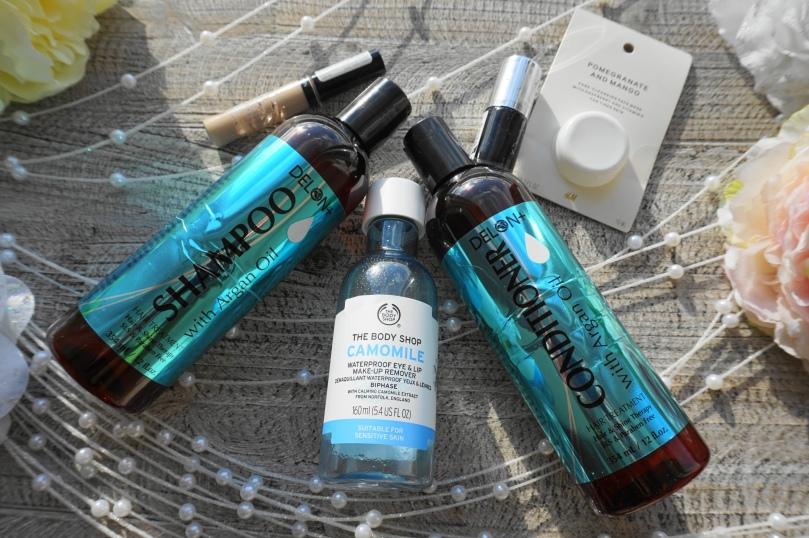 delon shampoo the body shop hm mask