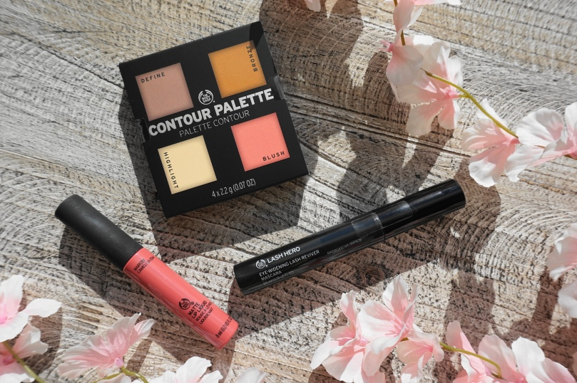 the body shop matte lip liquid contour palette lash hero