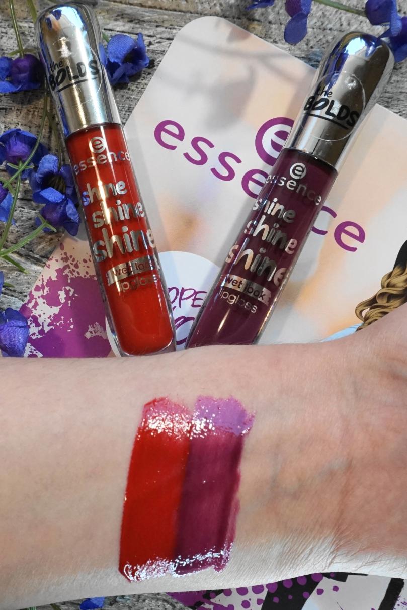essence shine shine shine lipgloss swatch
