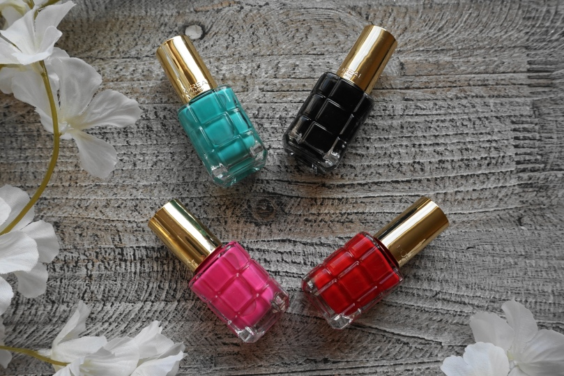 loreal nail polishes