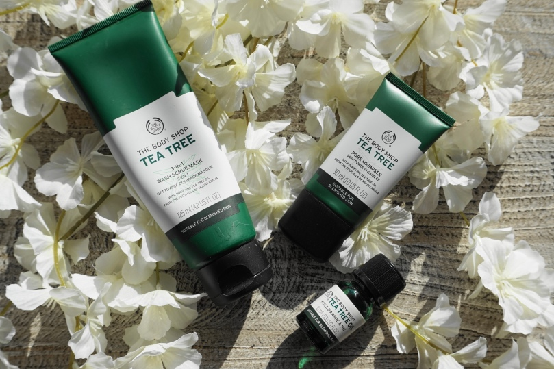 tea tree range 3 in 1 oil pore minimiser