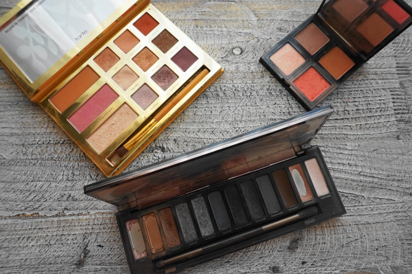 favourite pallets urban decay smoky tarte grav3yardgirl the body shop