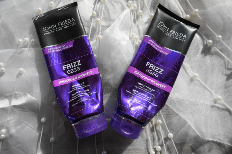 john freida frizz ease shampoo conditioner