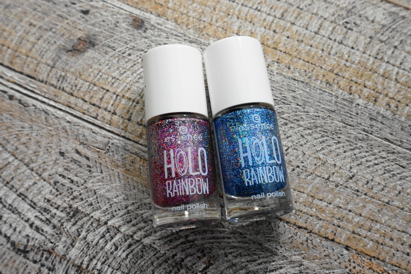 essence holo rainbow nail polishes true