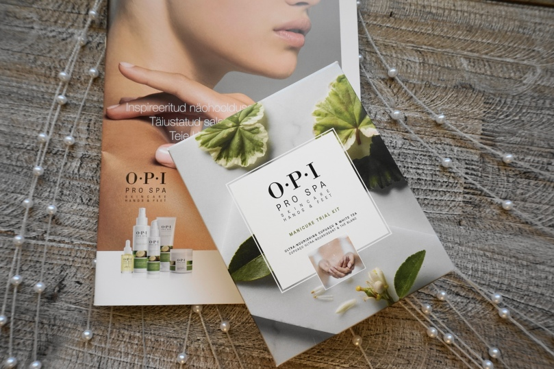 opi pro spa material