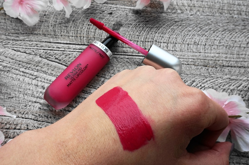 revlon ultra hd matte lipcolor 605 hd obsession