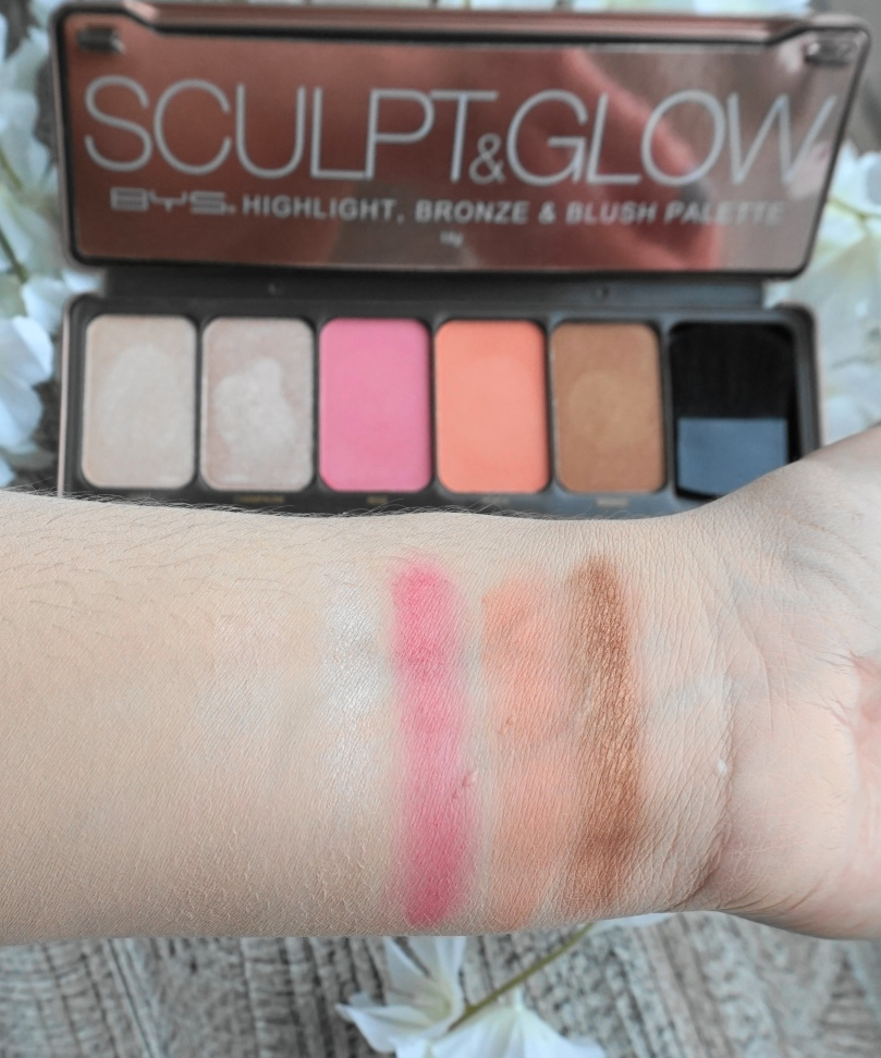 bys sculpt and glow swatch
