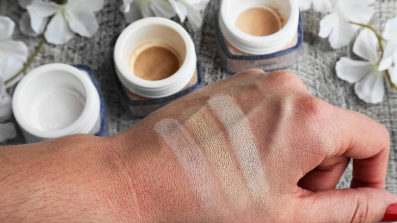 loreal mineral powsers swatches