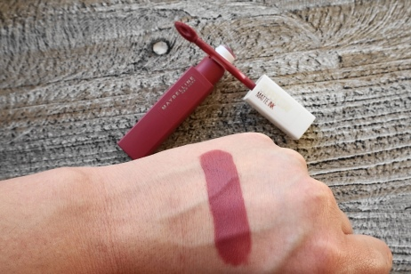 maybelline super stay matte ink lover swatch