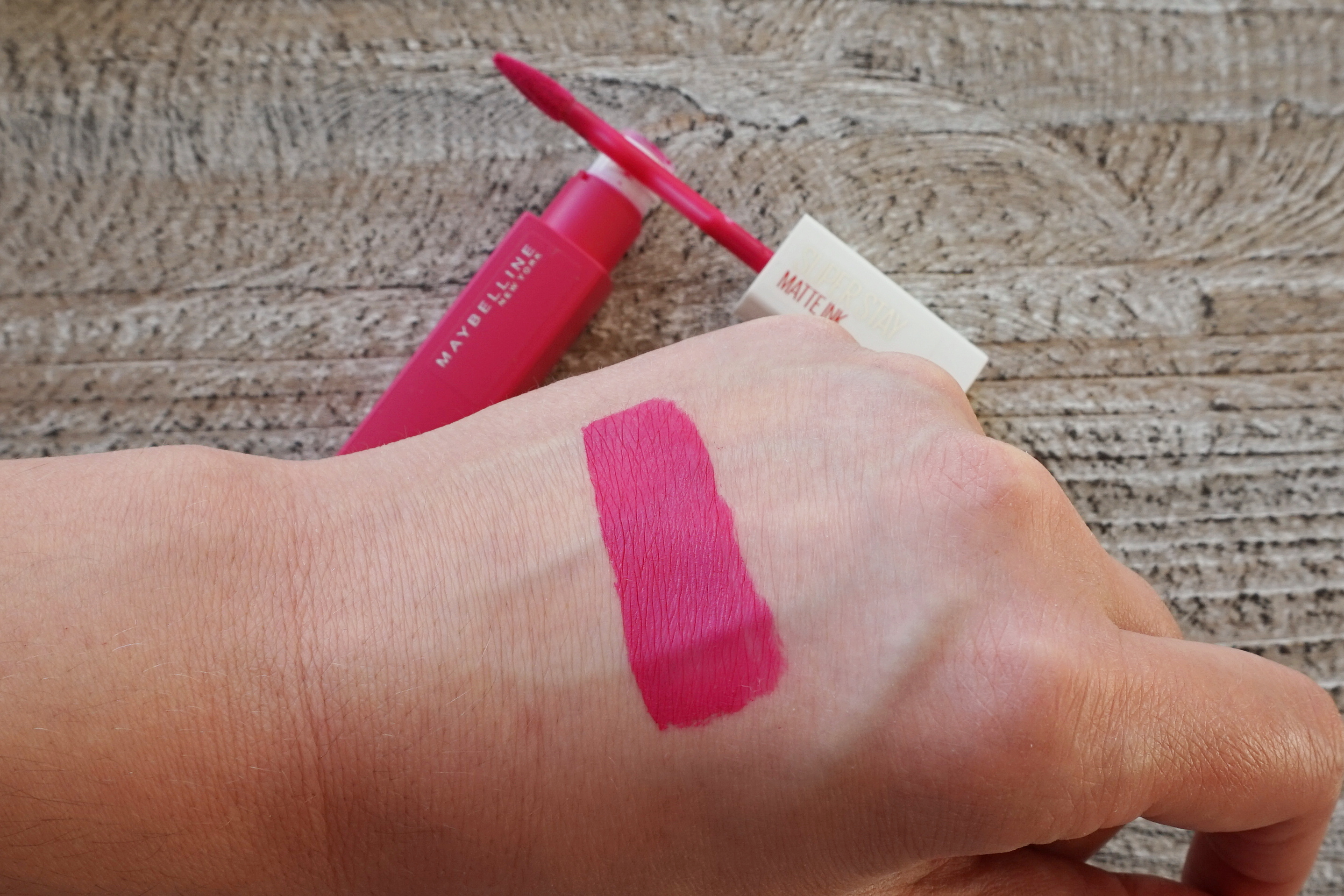 Maybelline Super Stay Matte Ink Review Adryanas Beauty Blog