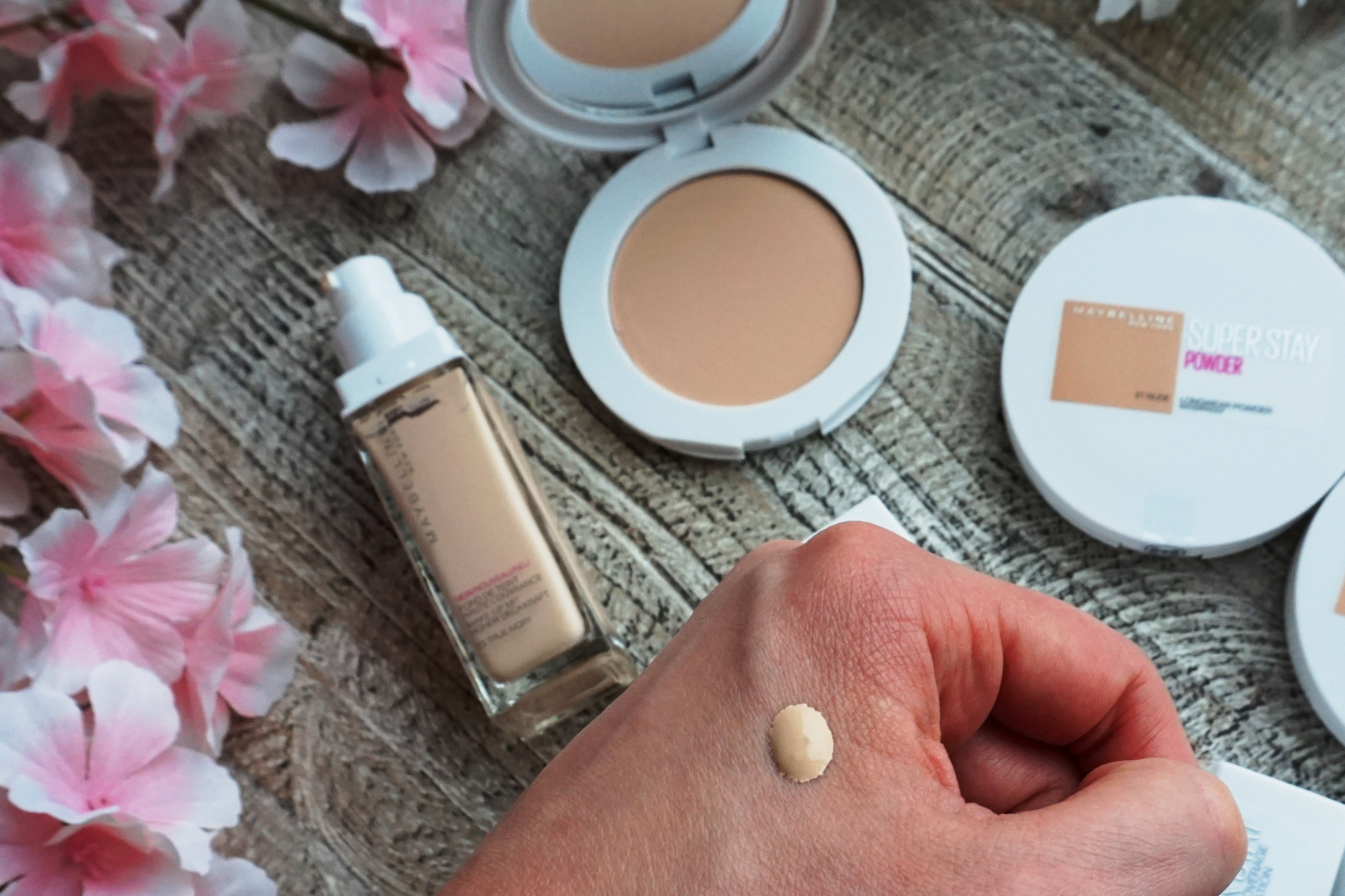 Maybelline Super Stay Foundation And Powder Review Adryana S Beauty Blog