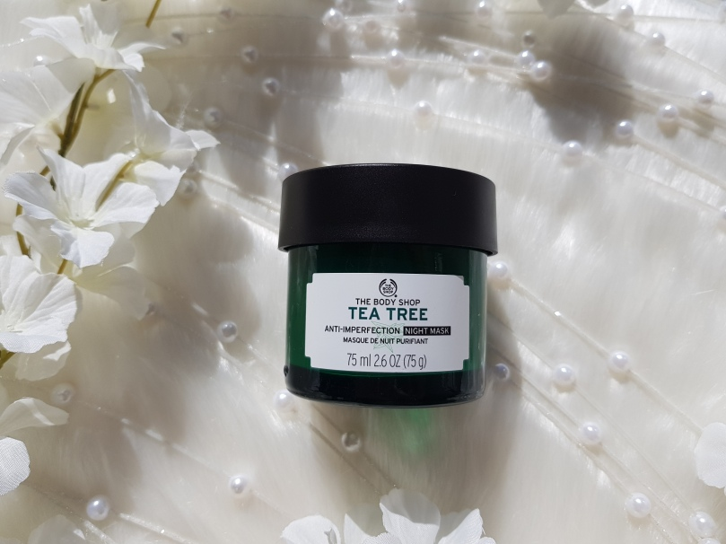 f36334e611d Tea Tree Anti-Imperfection Night Mask review